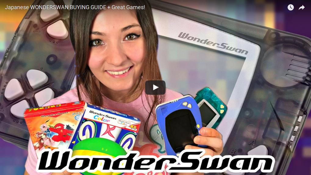 Guide d'achat et introduction à WonderSwan