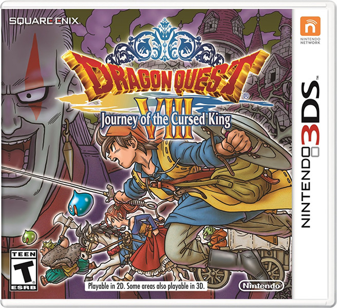 Dragon Quest VIII: Journey of the Cursed King 3DS Boxart