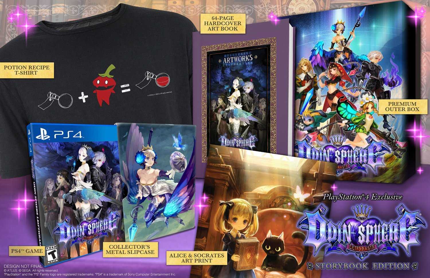 Odin Sphere Collector Edition