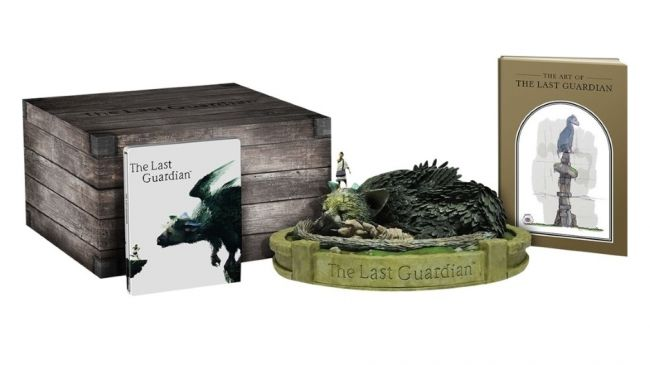 collector edition the last guardian