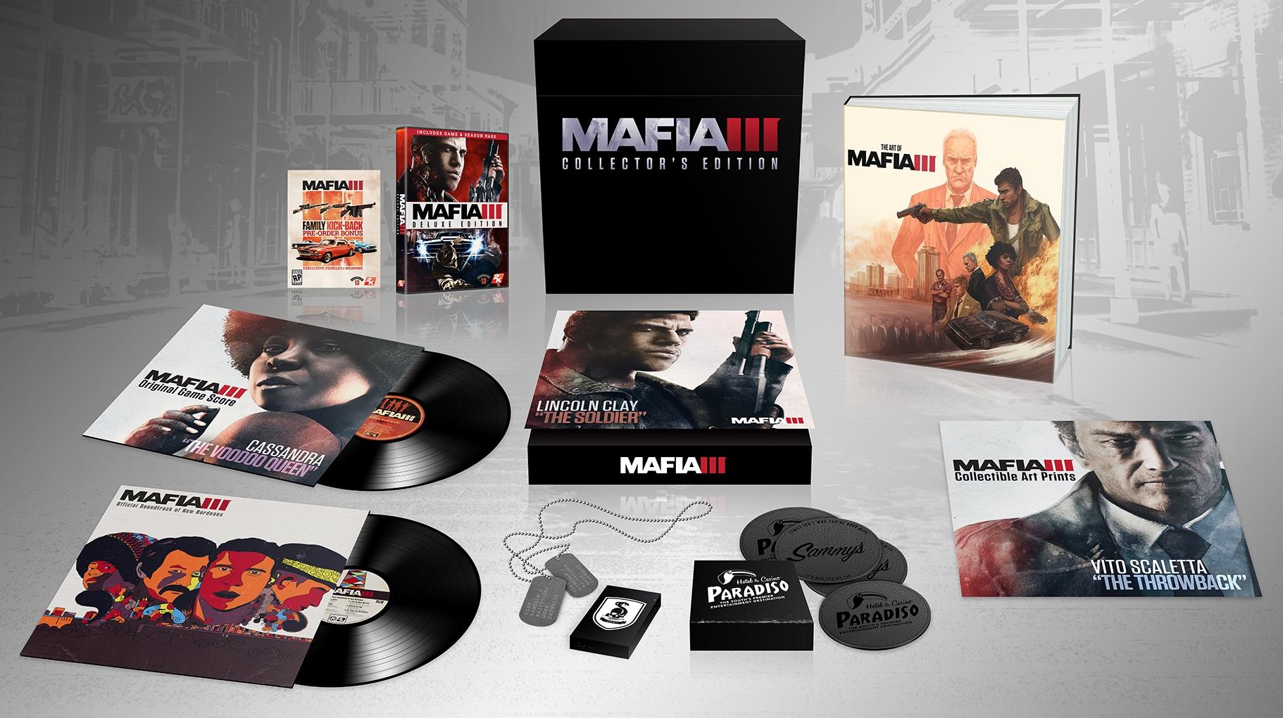 Mafia 3 Collector Edition