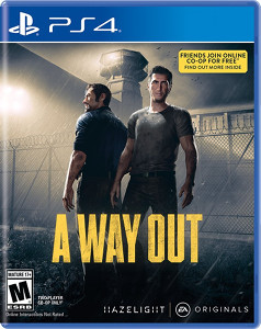 A way Out PS4 Cover